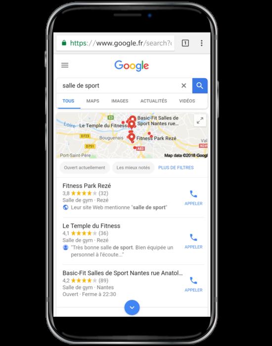 ranking google local
